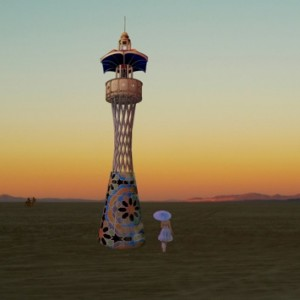 Tower on the playa